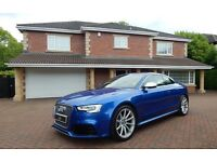 Audi A5 RS5 FSI QUATTRO (blue) 2013