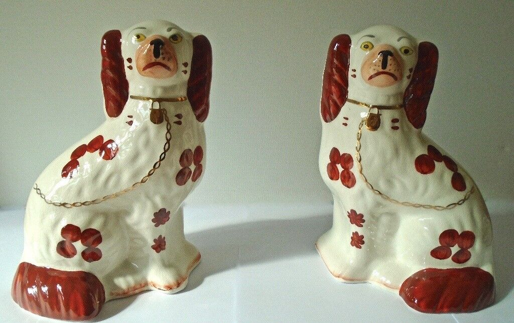 Vintage Arthur Wood Staffordshire Pottery Pair Of