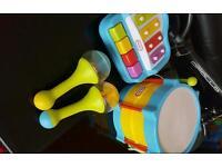 Little tykes instruments