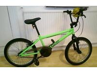 "Kids' Trax Bmx bike - 20"", green"