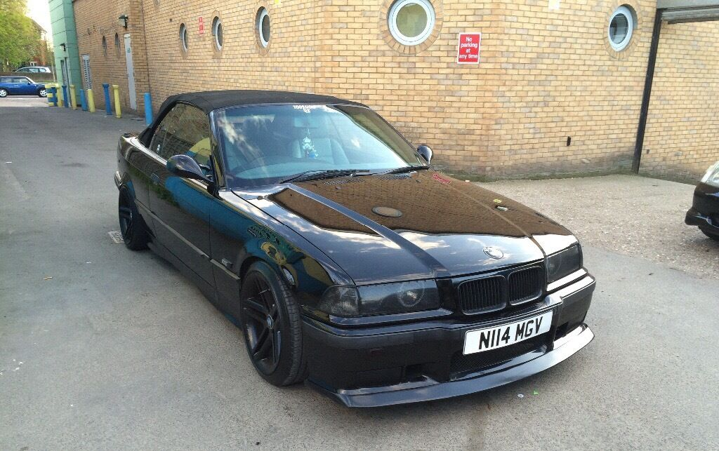 bmw e36 328i convertible modified in enfield london gumtree. Black Bedroom Furniture Sets. Home Design Ideas