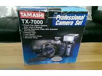 TAMASHI TX-7000 PROFESSIONAL CAMERA SET BNIB