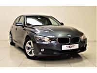 BMW 3 SERIES 2.0 320D EFFICIENTDYNAMICS 4d 161 BHP + 1 PREV OWN (grey) 2013