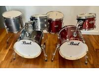 Pearl Midtown 3 Piece Shell Pack Kits