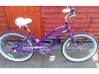 New beach cruiser ladies bike