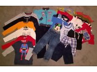 Bundle of clothes for boys (5 years) – 22 pieces