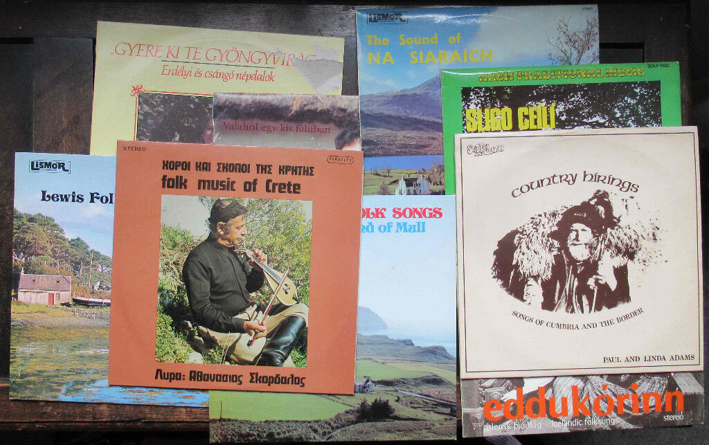 Folk Songs of Europe