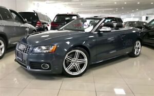 2011 Audi S5 S TRONIC 1 OWNER NAVIGATION CAMERA BMS CERTIFIED