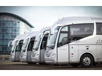 London Coach Hire & Minibus Hire - Low Cost - Executive Vehicles - 25 Vehicles Available Today