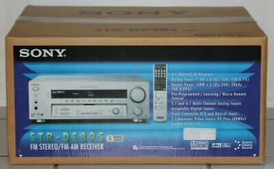 Sony STR-DE895 AM/FM Stereo Receiver Sealed