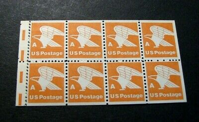 US Booklet Panes Scott# 1736a Eagle  MNH  Pane of  8 (see note) L328 for sale  Shipping to India