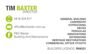 carpenter in Penrith Area, NSW | Services For Hire | Gumtree