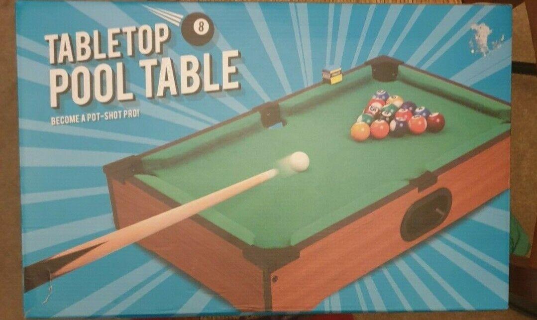 Tabletop mini pool table