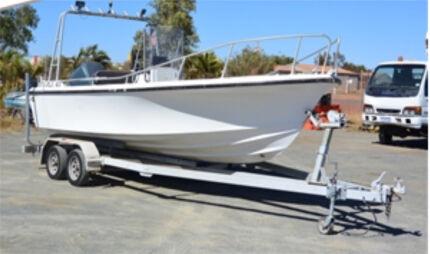 6.3m Centre Console Fibreglass Boat