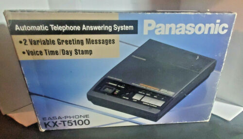 Panasonic Easa-Phone KX-T5100C Dual Micro Cassettes Automatic Answering System📞