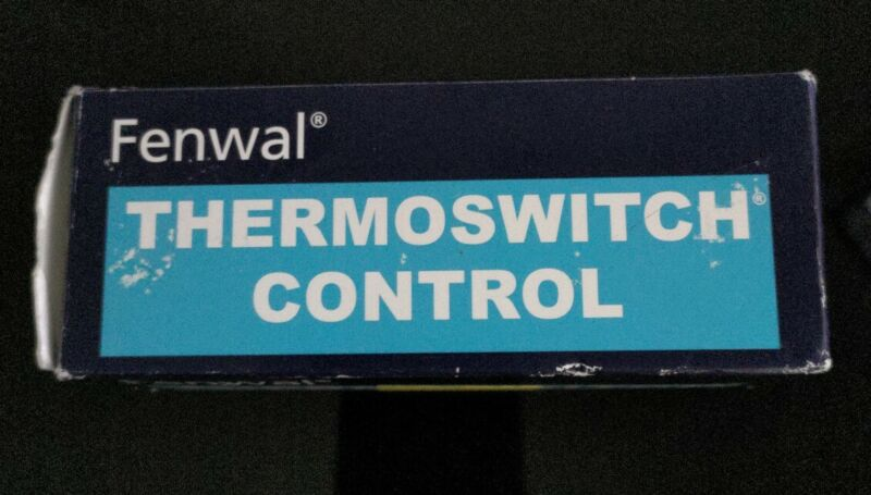 STERO P651183 FENWAL THERMOSWITHCH CONTROL P65-1183