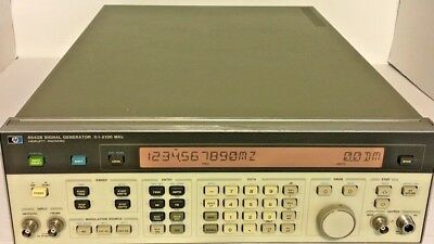 Hp Agilent 8642b 100 Khz To 2100 Mhz Synthesized Signal Generator