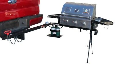 Party King Grills SWING'N Smoke Varsity Grill Package FREE SHIPPING