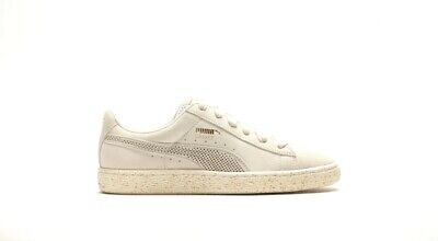 Unisex Puma Basket Suede X Careaux Whisper White Fashion Retro Trainer UK 4 - 10