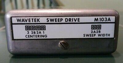 Tested Wavetek M103a Sweep Drive Module For 2002a Signal Generators