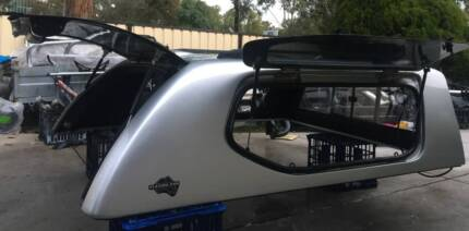 TOYOTA HILUX SR SR5 EXTRA - SPACE CAB FLEXISPORTS CANOPY  SILVER Yagoona Bankstown Area Preview
