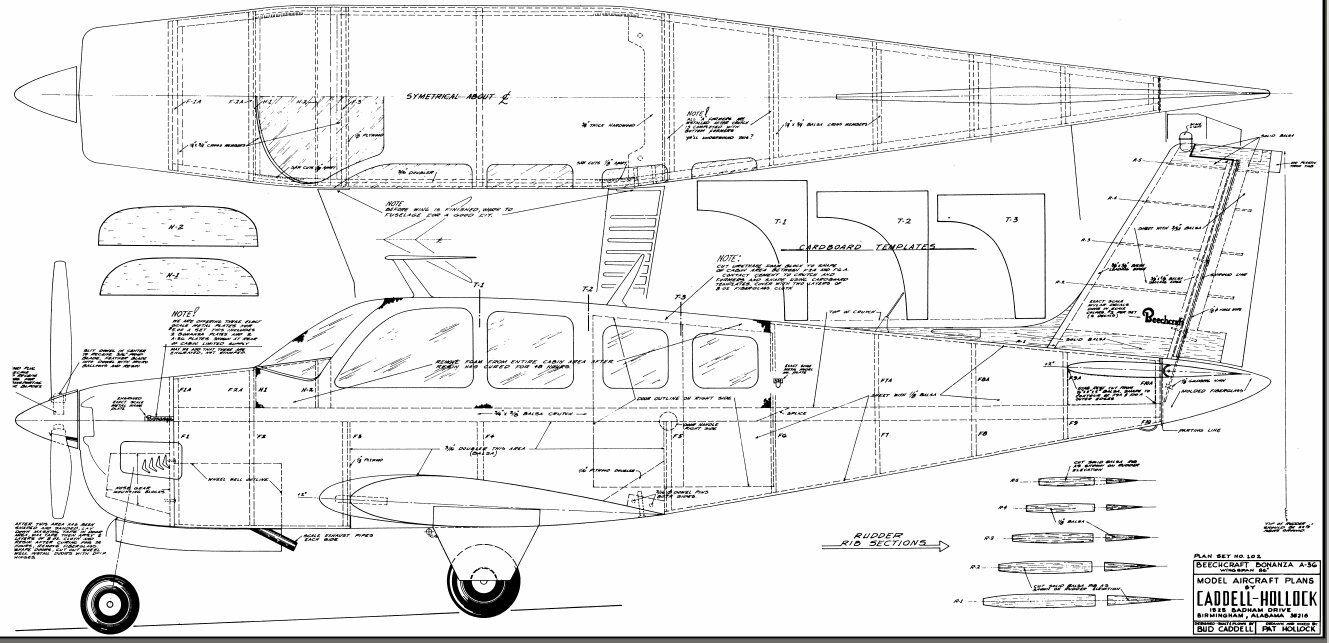 1 5 Scale Beechcraft Bonanza 86 Inch Giant Scale Rc