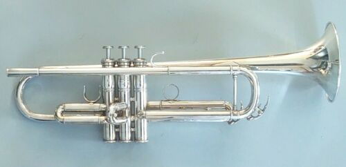 Yamaha YTR-6335HS Mike Vax Model Silver Plated Professional Trumpet with Case