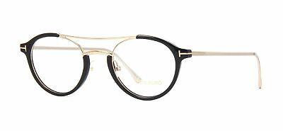 New Tom Ford TF 5515 001 Eyeglasses Frames Black Rose Gold Authentic Rx 49mm (Tom Ford Rose Gold)