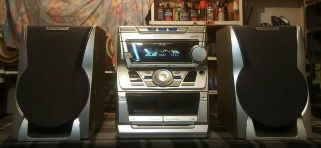 KENWOOD 3 CD/AUX/MINI HIFI STEREO SYSTEM/TUNER/RADIO