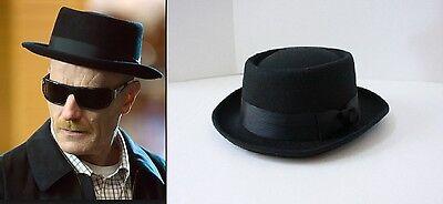Halloween Party Heisenberg Style Black Hat Walter White Breaking Bad G2220 - Walter White Hat Halloween
