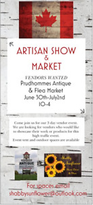 CANADA DAY LONG WEEKEND VENDORS WANTED