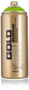 NEW MONTANA GOLD - AEROSOL ART SPRAY PAINT CAN - 400ml - PICK FROM 204 COLOURS!