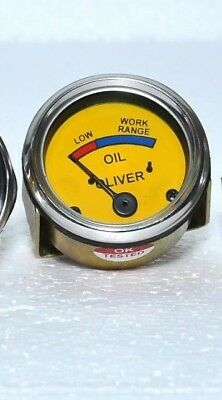 30 Psi Oil Pressure Gauge For Oliver Tractors Super 44 55 66 77 88 440 660 Hg Oc