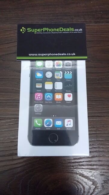APPLE IPHONE 5S 32GB (SPACE GREY) - NEW SEALED - UNLOCKED - FULL APPLE WARRANTY