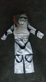 Official Stormtrooper Boys Fancy Dress 7-8 years BRAND NEW