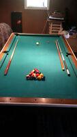 Pool Table/Table Tennis