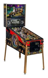 MUNSTERS Pinball from NITRO! Available in Pro, Premium & LE