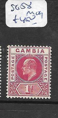 GAMBIA (P1901B) KE  1D SG 58  MOG