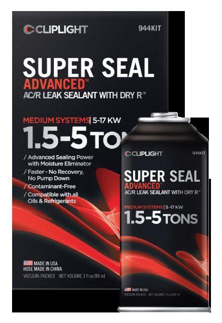Cliplight  Super Seal HVACR  Leak Sealant 972KIT (with UV Dye) and 944KIT