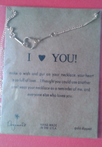 Heart I love you necklace