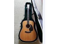 D35 Martin acoustic 6 string