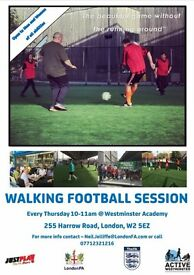 Westminster Walking Football Session