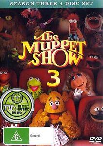 THE MUPPET SHOW SEASON 3 : NEW DVD