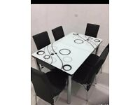 best furniture- turkish dining table with 4/6 chairs for sale - order now