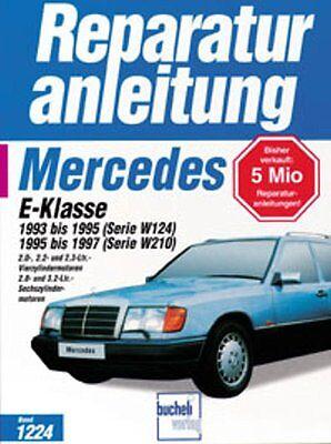 WERKSTATTHANDBUCH REPARATURANLEITUNG 1224 MERCEDES-BENZ E-KLASSE W124 210 gebraucht kaufen  Neckartailfingen