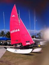 Race ready, little used Hobie 16 Broadbeach Waters Gold Coast City Preview