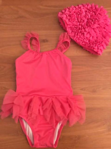 18-24 month gymboree swimsuit and matching swim cap