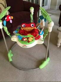 Fisher price Rain Forest jumperoo - in full working order
