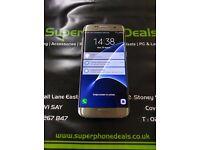 SAMSUNG GALAXY S7 32GB - UNLOCKED TO ALL NETWORKS - GRADE B £350