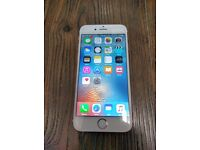 APPLE IPHONE 6S 16GB (ROSE GOLD) - LOCKED TO EE - APPLE WARRANTY FEB 2017